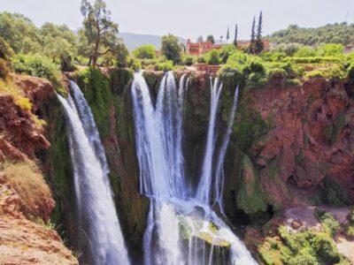 Voyage Organisé Week-End à Marrakech - Bin El Ouidane - Cascades Ouzoud - Terres amanar